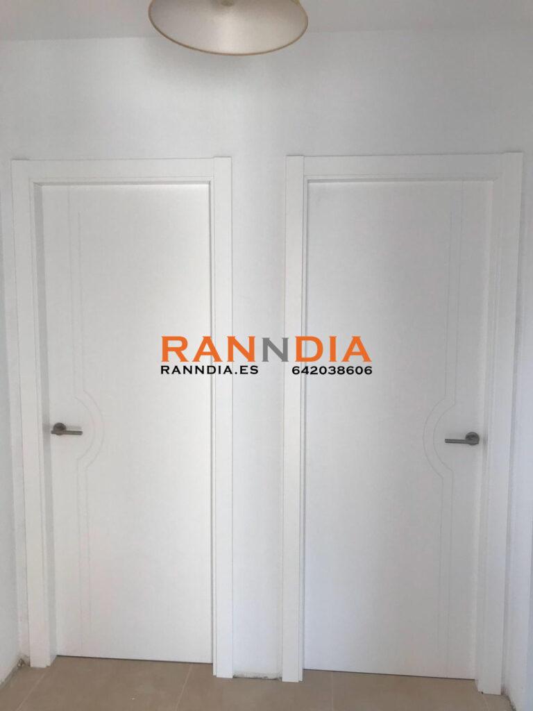 Puertas en Velez Malaga de madera