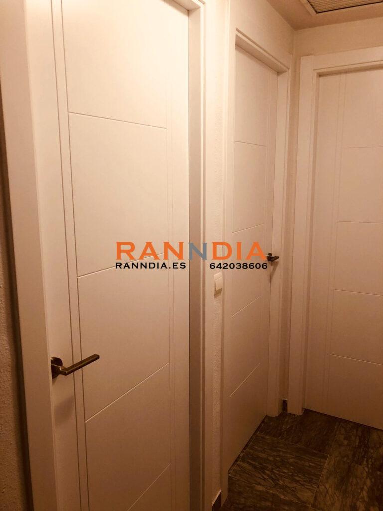 Puertas en Velez Malaga blancas lacadas